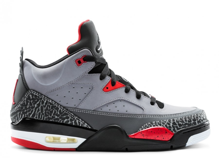 new concept f375b cfe6a Jordan Son of Mars Low- Cement Grey/White/Black/Fire Red
